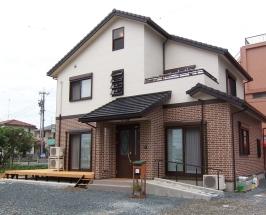 浜松市中区U様邸 大きなウッドデッキのある家