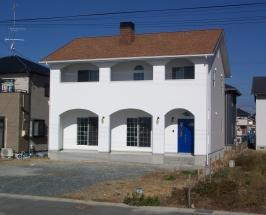 浜松市西区O様邸(北米風住宅)