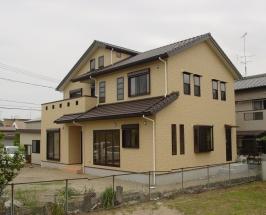 浜松市西区M様邸 居間に畳敷きの東屋のある家
