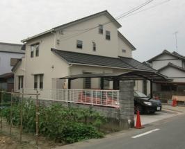 浜松市浜北区N様邸一角に事務所を設けた家