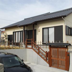 庭の四季を楽しみながら快適なワンフロアの暮らしができる家 浜松市浜北区 S様邸