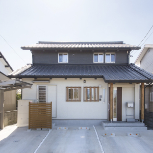 コンパクトな二世帯住宅で楽しく暮らす自然素材の家 浜松市西区  S様邸