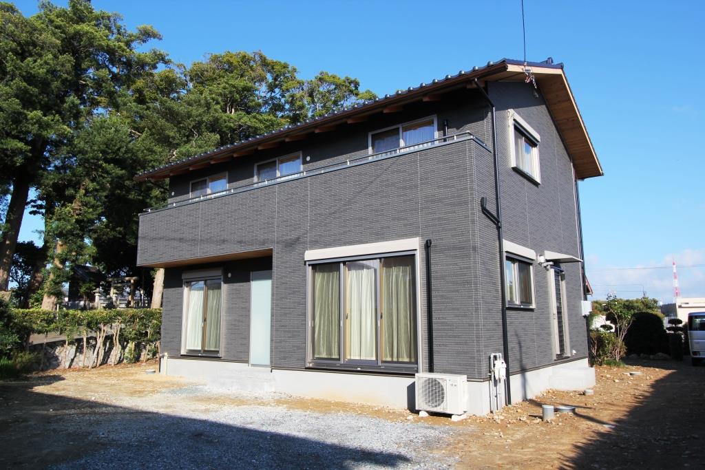 制震装置のついた住宅