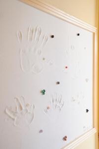 玄関漆喰手形