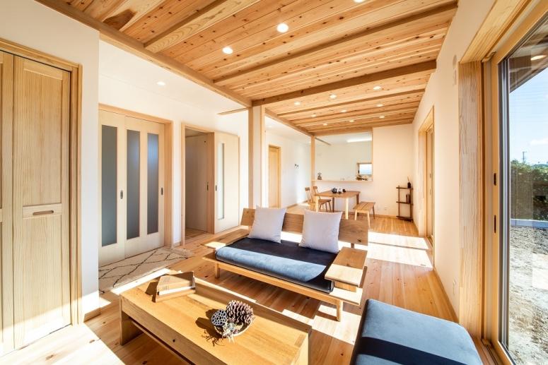 注文住宅,浜松,土間,自然素材