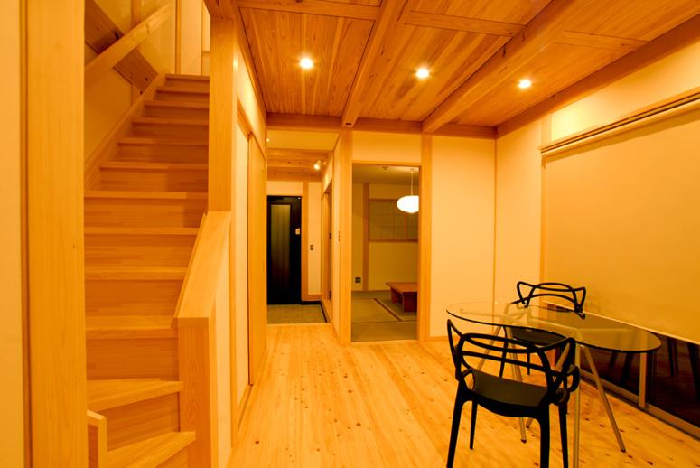 静岡県,注文住宅,2階リビング,狭小地