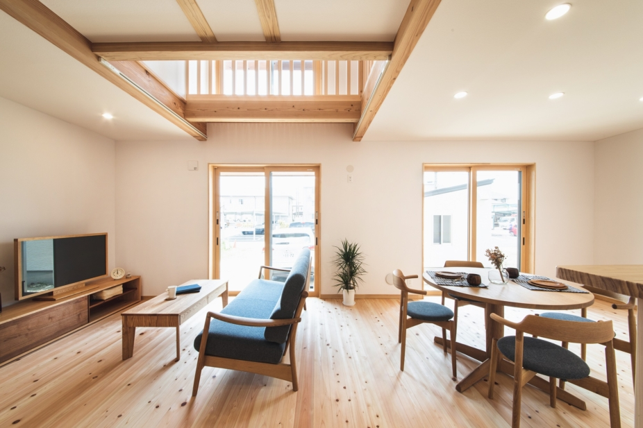 自然素材に包まれた空気環境が良い家