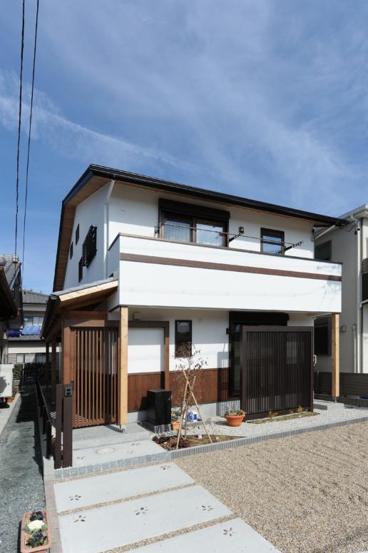 和風住宅の外観デザイン